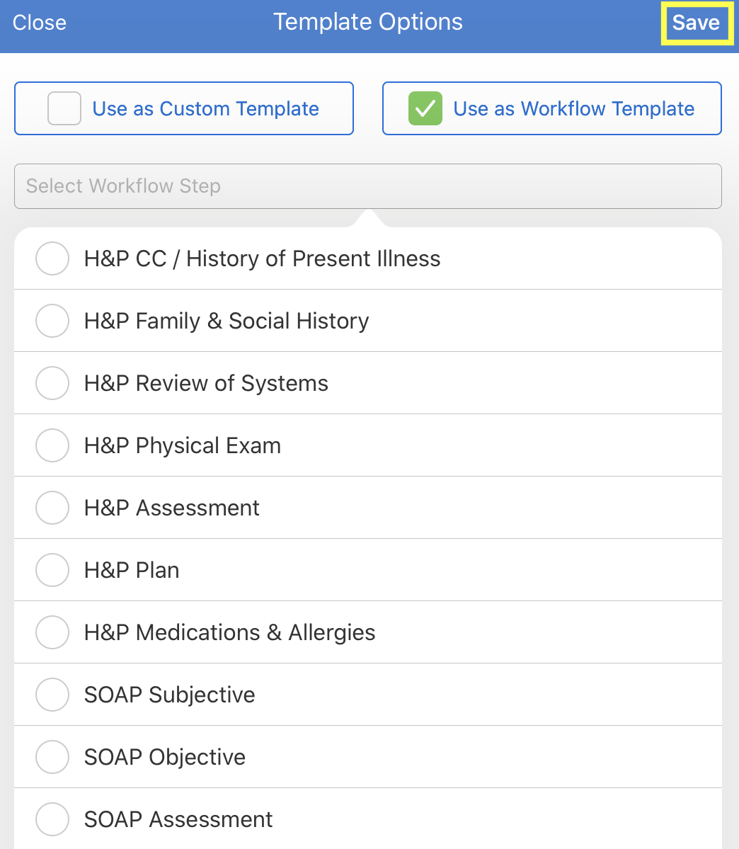 iPad_Account_Medical_Forms_Library_Use_This_Form_Workflow.PNG