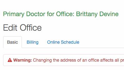 using the scheduling widget drchrono customer success