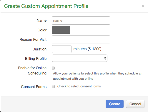 how to build an appointment profile drchrono customer success