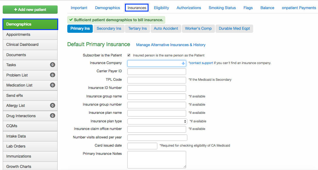 How Do I Find The Payer Id Number Drchrono Customer Success