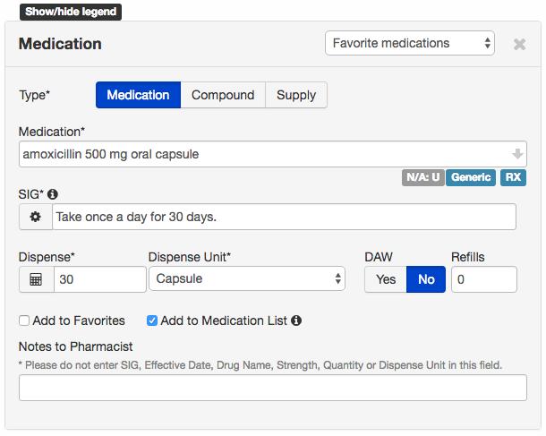 web erx basics how to prescribe medications via the drchrono ehr